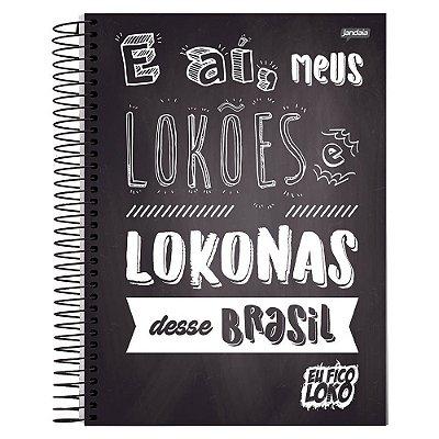 Caderno Eu Fico Loko - E aí - 1 Matéria - Jandaia