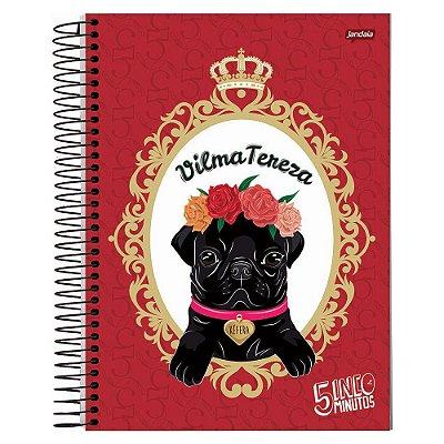 Caderno Kéfera - Vilma Tereza - 10 matérias