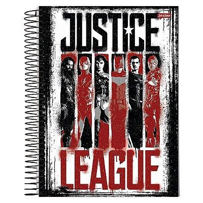 Caderno Liga da Justiça - Quadrinhos - Jandaia