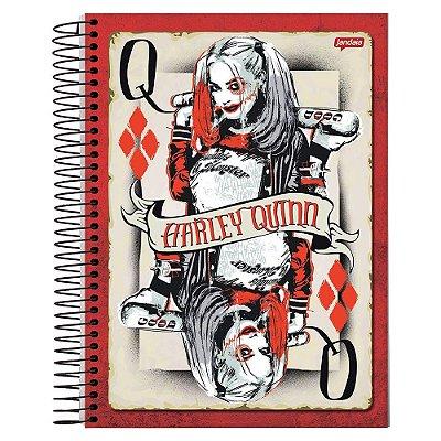 Caderno Esquadrão Suicida - Baralho - 10 matérias - Jandaia