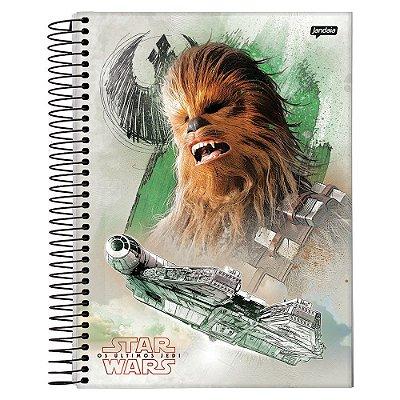 Caderno Star Wars - Chewbacca - 1 Matéria - Jandaia