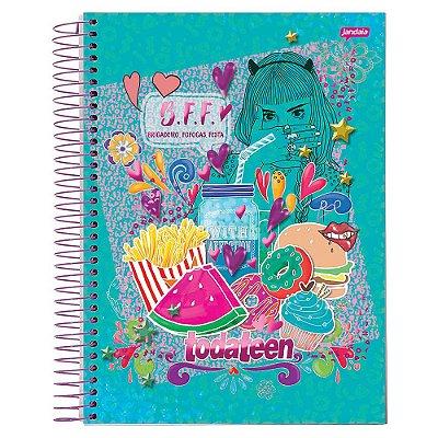 Caderno Toda Teen - BFF - 10 matérias - Jandaia