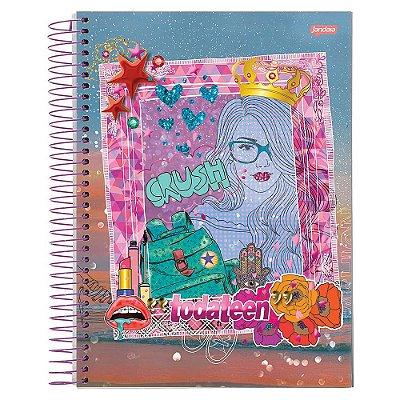 Caderno Toda Teen - Crush - 10 matérias - Jandaia