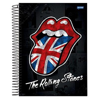 Caderno The Rolling Stones British- 10 matérias - Jandaia