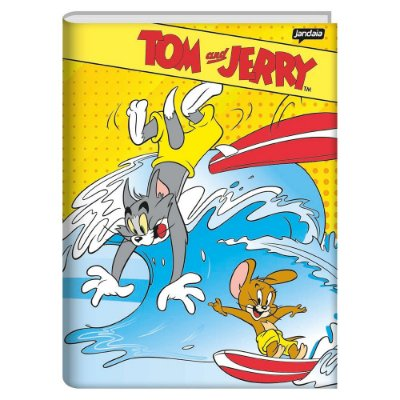 Caderno Brochura Tom e Jerry - Surf - Jandaia