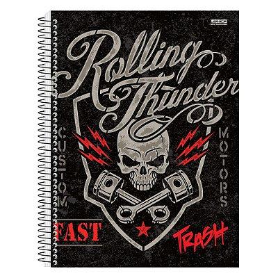 Caderno Trash Rolling - 15 matérias - São Domingos