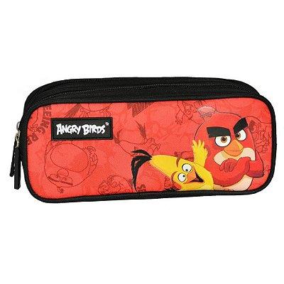 Estojo Angry Birds- 2 divisórias - Santino