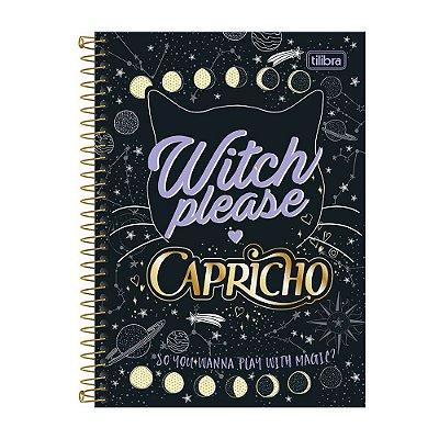 Caderno Capricho Witch Please - 16 Matérias - Tilibra