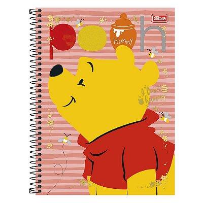 Caderno Pooh - Ursinho Pooh - 10 Matérias - Tilibra