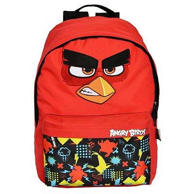 Mochila Angry Birds Vermelha - Red - Santino