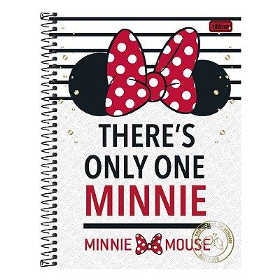 Caderno Minnie Only One  - 1 matéria - Tilibra