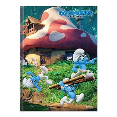 Caderno Brochura Os Smurfs - Smurfs - 96 Folhas - São Domingos