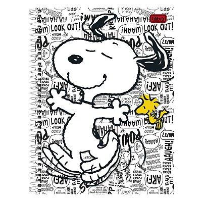 Caderno Snoopy - Frases - 1 matéria - Tilibra