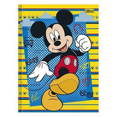 Caderno Brochura Mickey Feliz - 96 Folhas - Tilibra