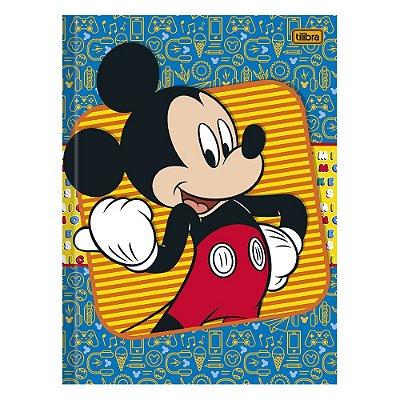 Caderno Brochura Mickey e Desenhos  - 96 Folhas - Tilibra