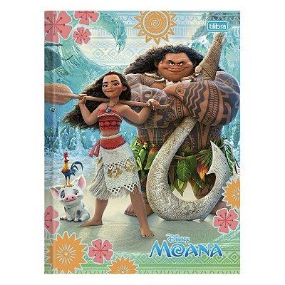 Caderno Brochura Moana e Chefe Tui  - 96 Folhas - Tilibra