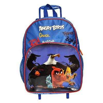 Mochila de Carrinho Angry Birds Azul - Santino