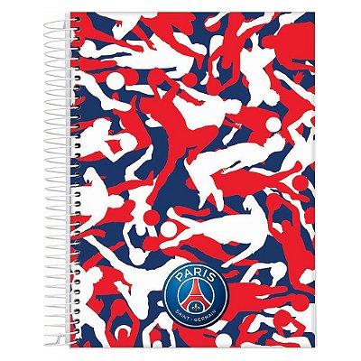 Caderno Paris Saint-Germain - Jogadores - 10 Matérias - Jandaia
