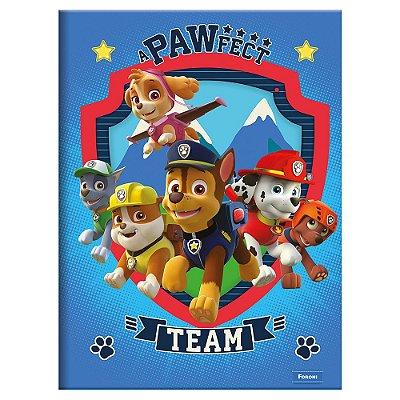 Caderno Brochura Patrulha Canina - Team - 96 Folhas