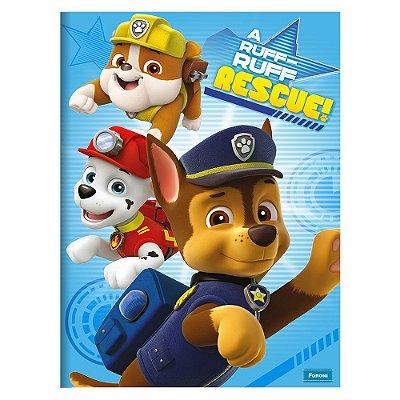 Caderno Brochura Patrulha Canina - Rescue  - 96 Folhas