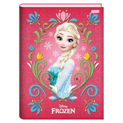 Caderno Brochura Frozen Magic - Elsa - 96 folhas - Jandaia
