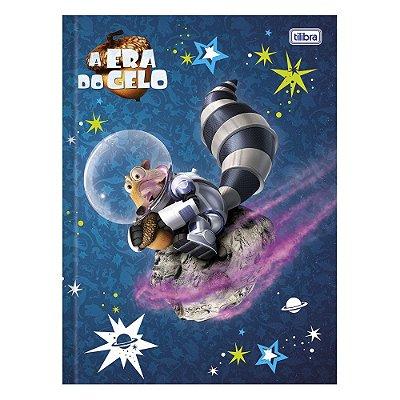 Caderno Brochura A Era Do Gelo - Scrat no Espaço - 96 Folhas - Tilibra