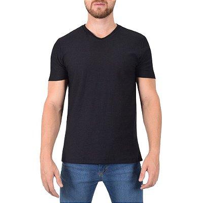 Camiseta Masculina Flame Básica - Preta - Fore