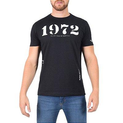 Camiseta Masculina Classic Alpha Squad - Preta - Ellus
