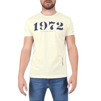 Camiseta Masculina Classic Alpha Squad - Marfim - Ellus