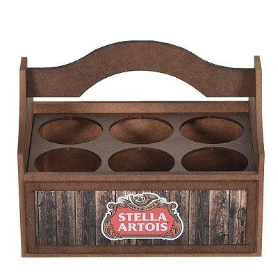 Engradado para Garrafas Long Neck Com Alça - Stella Artois - Vikos