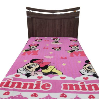 Manta de Microfibra Solteiro Soft - Minnie Mouse - Jolitex