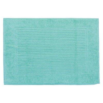 Toalha Piso Para Pés - 48 x 70 cm - Azul Turquesa 1646 - Buddemeyer
