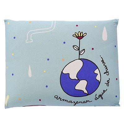 Travesseiro Anti-Sufocante Visco Baby - Água do Mundo - Altenburg
