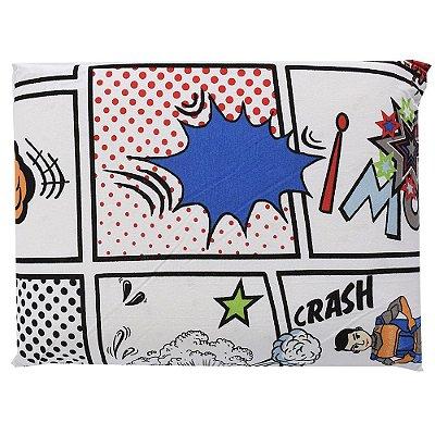 Travesseiro Anti-Sufocante Visco Baby - Quadrinhos Crash - Altenburg
