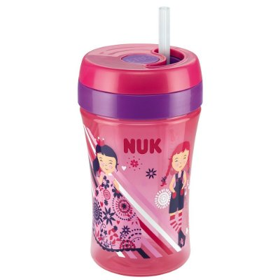 Copo Infantil Fun Cup Easy Learning - Rosa - NUK
