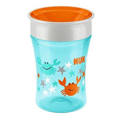 Copo de Transição Magic Cup 230ml - 8+ Meses -  Azul - Nuk