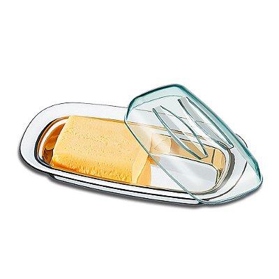 Manteigueira Com Cúpula Lyon - 2 Peças - Brinox