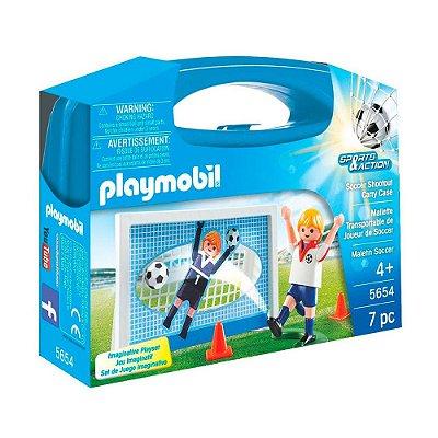 Maleta Futebol - 7 Peças - Playmobil