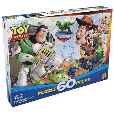 Quebra-Cabeça Toy Story Turminha - 60 Peças - Grow