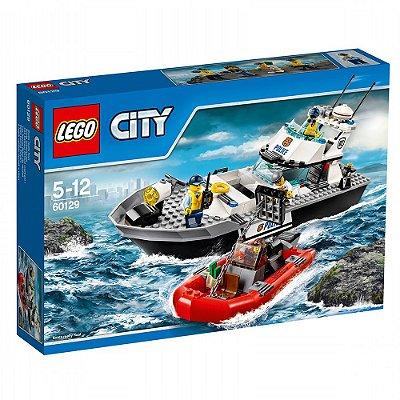 Lego Barco Patrulha Policial - 200 Peças - Lego City