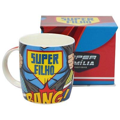Caneca Super Filho 320ml - Zona Criativa