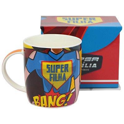Caneca Super Filha 320ml - Zona Criativa