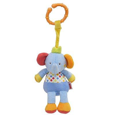 Mini Pelúcia de Atividades Treme Treme - Elefante - Nuk