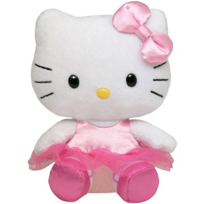 Pelúcia Beanie Babies - Hello Kitty Bailarina - DTC