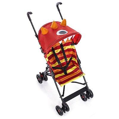 Carrinho de Passeio Umbrella Monster - Vermelho - Voyage