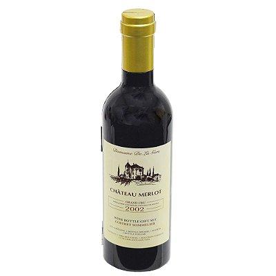 Conjunto Para Vinho na Garrafa - 4 Peças - Dynasty