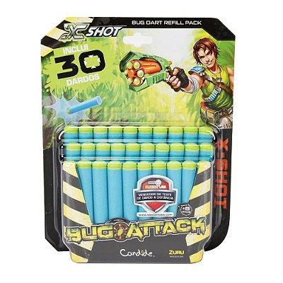 Refil de Dardos X Shot Bug Attack - 30 dardos - Candide
