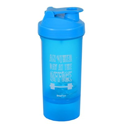 Coqueteleira Another Day Azul - 600ml - Brasfoot