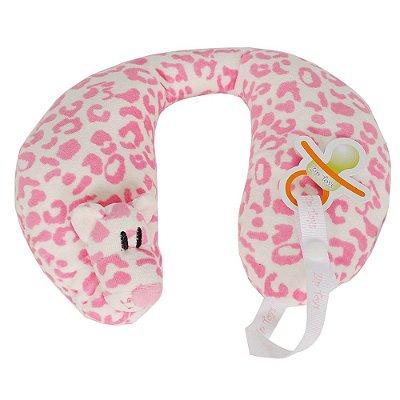 Protetor de Pescoço - Tigre Rosa - Zip Toys