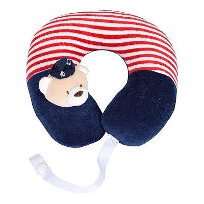 Protetor de Pescoço Ursinho Marinheiro - Zip Toys